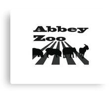 Abbey Zoo Canvas Print