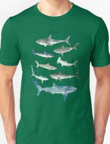 Sharks - Landscape Format Unisex T-Shirt