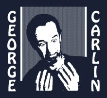 George Carlin - Hands by chachi-mofo