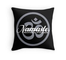 Namaste, MF Totebag Throw Pillow