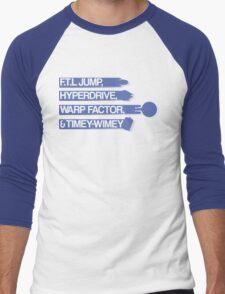 Space Ways Men's Baseball ¾ T-Shirt