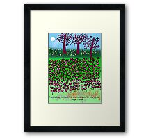 This Chemo Is Good For Your Eyes, by Roger Pickar, Goofy America Framed Print