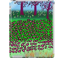 This Chemo Is Good For Your Eyes, by Roger Pickar, Goofy America iPad Case/Skin