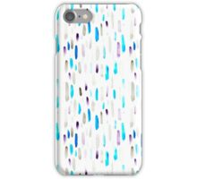 Watercolor Purple Rain iPhone Case/Skin