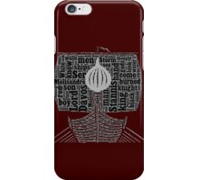 Ser Davos Seaworth, The Onion Knight iPhone Case/Skin