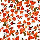 mushrooms by brooke pelczynski