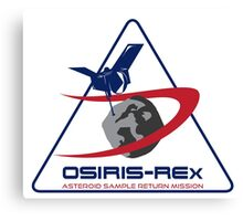 OSIRIS REx Science Team Logo Canvas Print