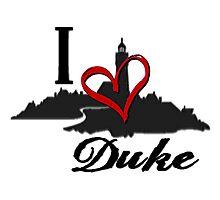 Haven I Love Duke Logo Photographic Print