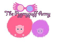 Pygmypuff Army - the Luna diaries Photographic Print