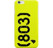 Area Code 803 South Carolina iPhone Case/Skin