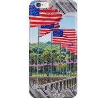 Flag Walk 2 iPhone Case/Skin