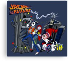 Jack To The Future Canvas Print