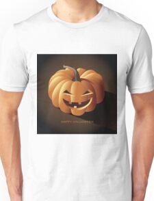 Happy halloween jack o lantern Unisex T-Shirt