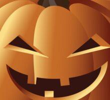 Happy halloween jack o lantern Sticker