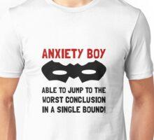 Anxiety Boy Unisex T-Shirt