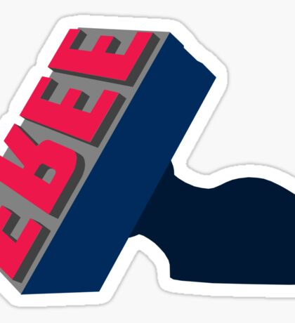 Cleveland Free Stamp - Indians Colors Sticker