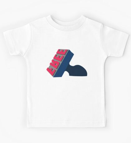 Cleveland Free Stamp - Indians Colors Kids Tee