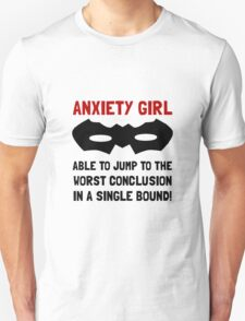 Anxiety Girl Unisex T-Shirt