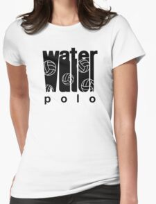 Retro Water Polo Womens Fitted T-Shirt