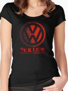 VW for life Women's Fitted Scoop T-Shirt