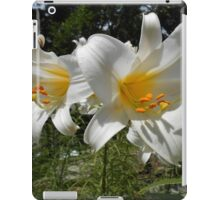 Easter Lilies iPad Case/Skin