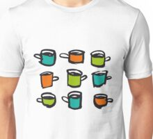 I love to drink many cups Unisex T-Shirt