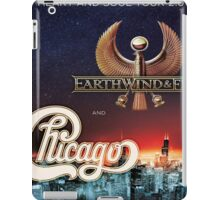CHICAGO WITH EARTH WIND FIRE iPad Case/Skin