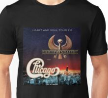 CHICAGO WITH EARTH WIND FIRE Unisex T-Shirt