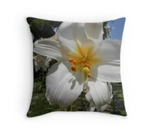 Easter Lily 2 Throw Pillow