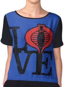 LOVE COBRA Chiffon Top