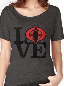 LOVE COBRA Women's Relaxed Fit T-Shirt
