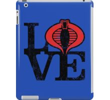 LOVE COBRA iPad Case/Skin