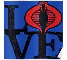 LOVE COBRA Poster