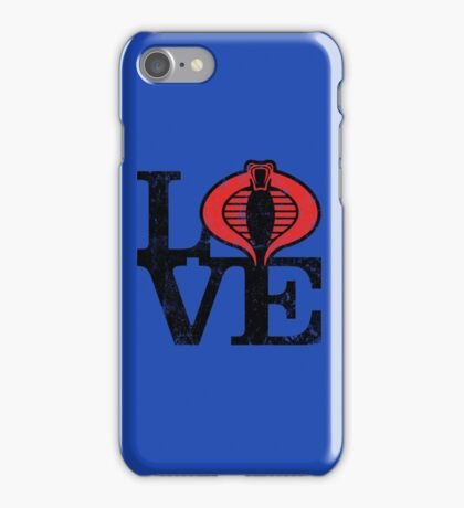 LOVE COBRA iPhone Case/Skin