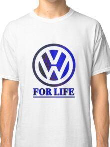 VW for life Blue Classic T-Shirt