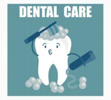 Dental Care One Piece - Long Sleeve