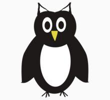 Black And White Owl Design by biglnet