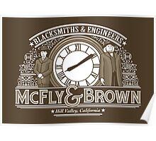 McFly & Brown Blacksmiths Poster