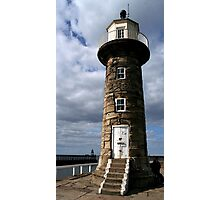 Whitby Lighthouse   Photographic Print