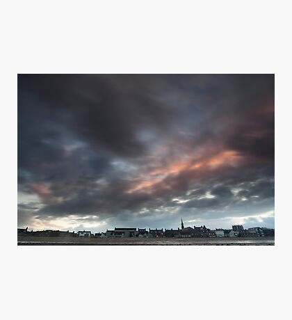 sunset over stonehaven Photographic Print