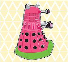 Watermelon Dalek by NikoTrash
