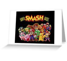 Super Smash Bros. 64 Greeting Card