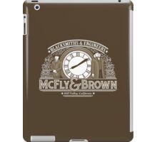 McFly & Brown Blacksmiths iPad Case/Skin