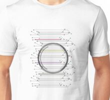 Body Matrix (Black) Unisex T-Shirt