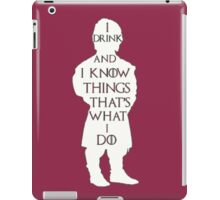 Game of Thrones - I Drink and I Know Things iPad Case/Skin