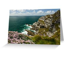 Cliffs of Kerry Ireland Greeting Card