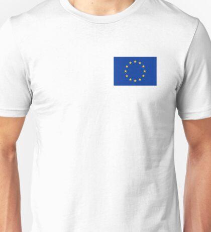 EU flag design. Unisex T-Shirt