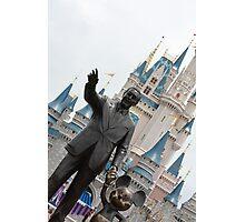 Walt and Mickey Photographic Print