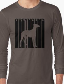 Retro Greyhound Long Sleeve T-Shirt