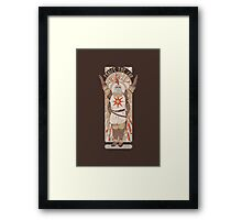 Praise the Sun Framed Print